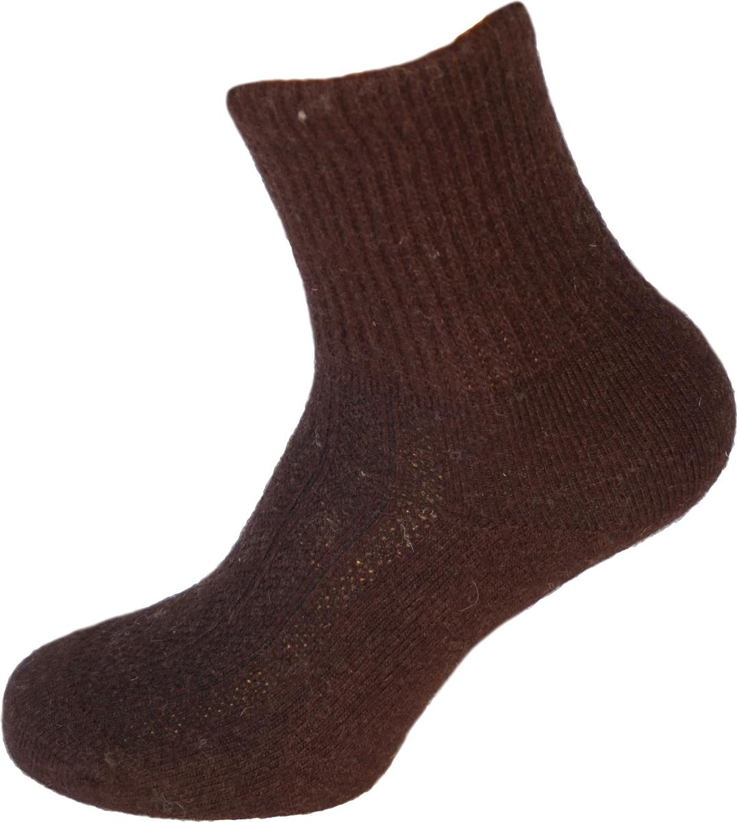 Термоноски BG Yak Wool, цвет: темно-коричневый. 825586_4. Размер 37/39825586_4Термоноски Yak Wool из шерсти яка с добавлением вискозы обладают высокой гигроскопичностью, быстро сохнут, хорошо сохраняют тепло, нейтрализуют неприятные запахи. Подходят для чувствительной кожи. Высокая износостойкость.