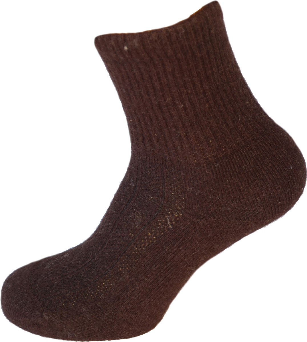 Термоноски BG Yak Wool, цвет: темно-коричневый. 825586_4. Размер 37/39