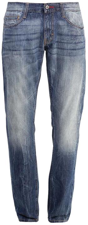 Джинсы мужские Mustang Oregon Boot, цвет: синий. 3117-5107-535_5000-313. Размер 34-34 (50-34) джинсы mustang 1005012 5000 313