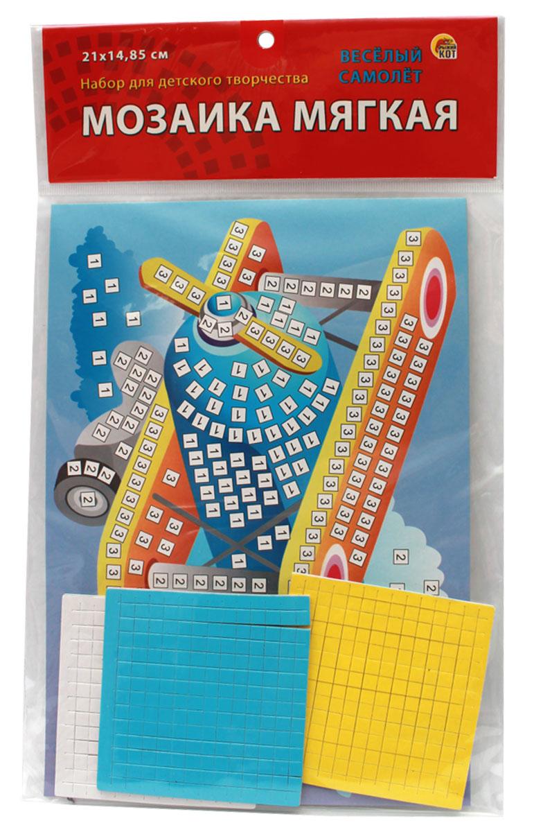 Рыжий Кот Мозаика мягкая Веселый самолет издательство рыжий кот мягкая мозаика веселый самолет формат а5 21х15 см
