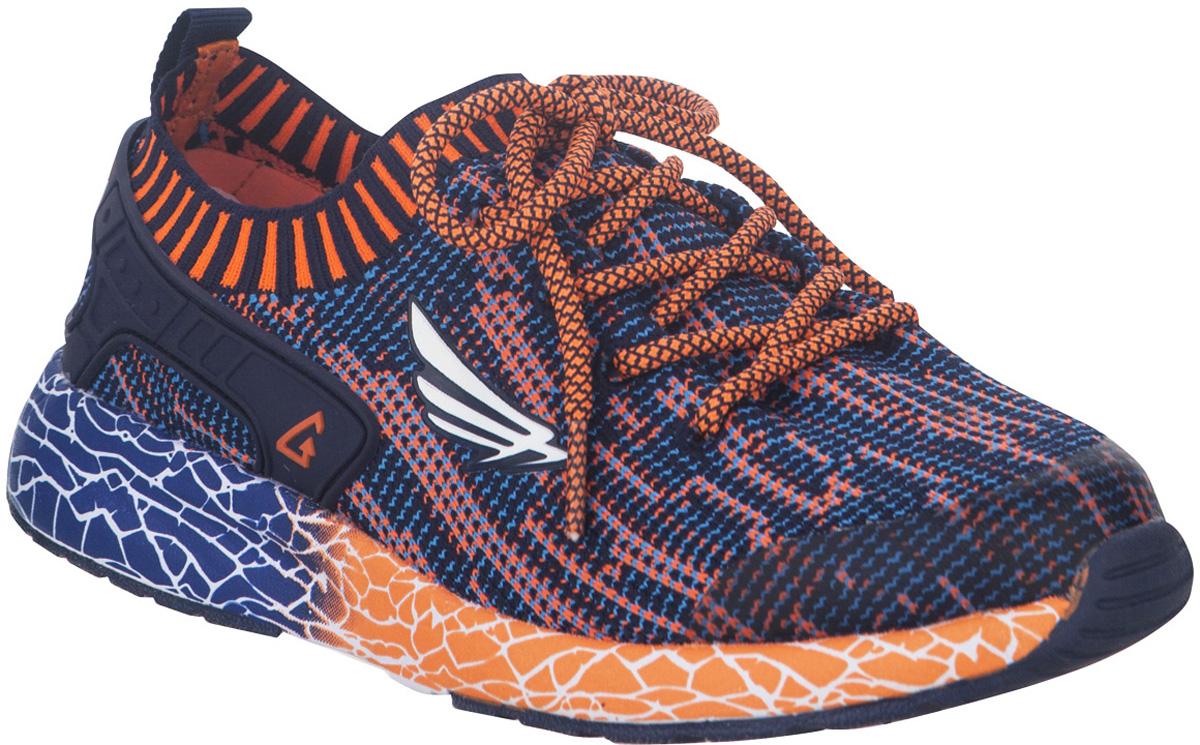 Кроссовки детские Kapika, цвет: темно-синий. 74221-2. Размер 3874221-2Стильные кроссовки от Kapika не оставят равнодушным вашего ребенка. Модель изготовлена из текстиля. Уплотнение на мыске защищает детскую стопу от ударов при движении. Шнурки прочно зафиксируют обувь на ножке. Подкладка и стелька из текстиля гарантируют комфорт при носке. Гибкая и легкая подошва, выполненная из ТЭП-материала, с промежуточной подошвой из ЭВА долговечна и обеспечивает высокую устойчивость к деформациям. В такой обуви ножкам вашего ребенка всегда будет комфортно и уютно.