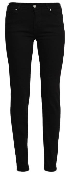 Джинсы женские Mustang Jasmin Slim, цвет: черный. 0586-5174-490_4000-940. Размер 29-32 (44/46-32)0586-5174-490_4000-940