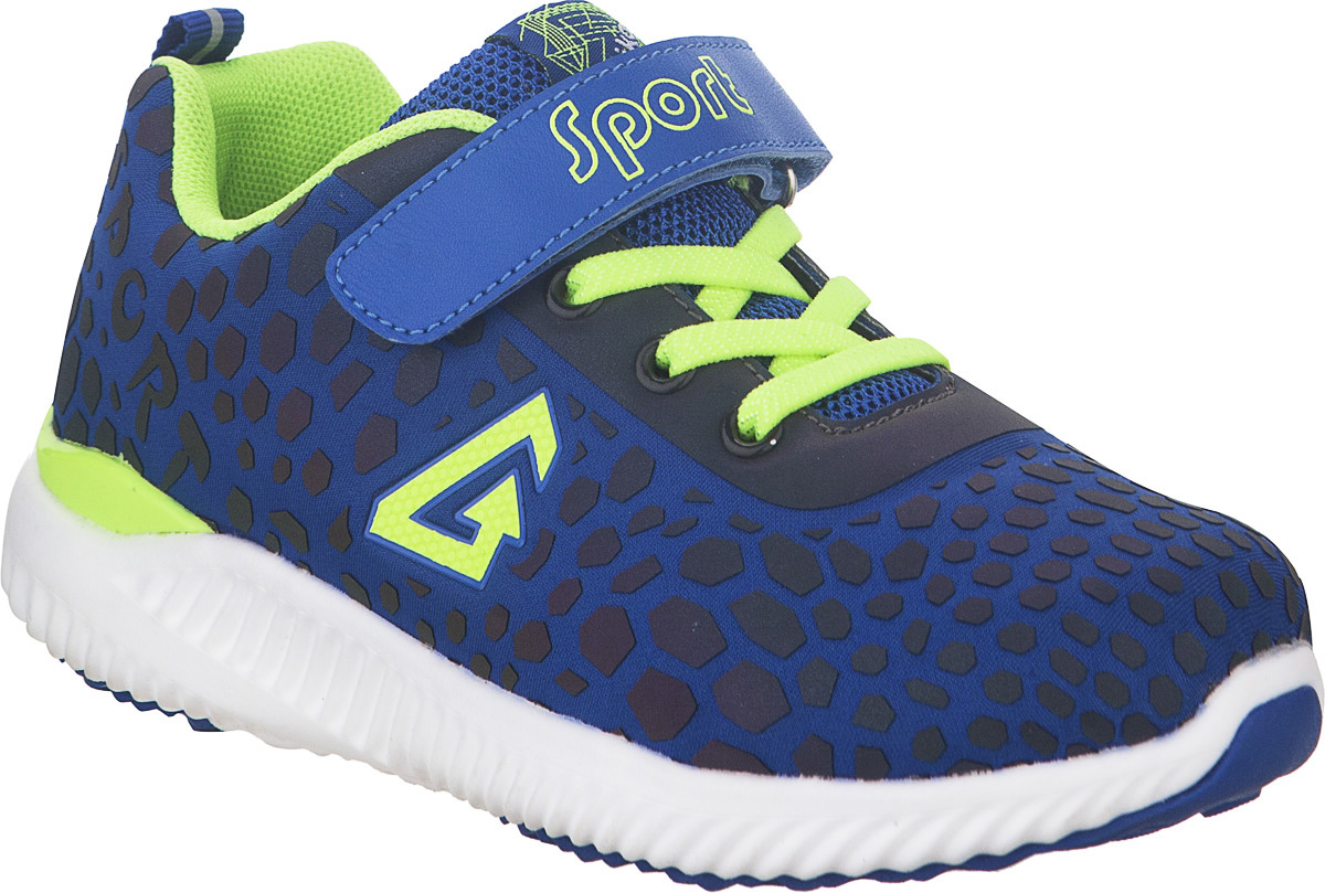 Кроссовки для мальчика Kapika, цвет: синий. 73333-2. Размер 3673333-2Стильные кроссовки от Kapika не оставят равнодушным вашего ребенка. Модель изготовлена из текстиля и искусственной кожи. Уплотнение на мыске защищает детскую стопу от ударов при движении. Ремешок с застежкой-липучкой и шнурки прочно зафиксируют обувь на ножке. Подкладка и стелька из текстиля гарантируют комфорт при носке. Гибкая и легкая подошва, выполненная из ТЭП-материала, с промежуточной подошвой из ЭВА долговечна и обеспечивает высокую устойчивость к деформациям. В такой обуви ножкам вашего ребенка всегда будет комфортно и уютно.