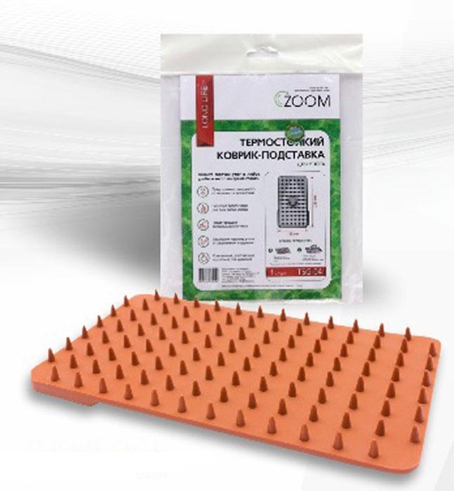 Zoom TSG-04 коврик-подставка для утюгаTSG-04Коврик-подставка TSG-04 фиксирует утюг на гладильной поверхности, защищает от перегрева и возможных следов. Изготавливается подставка из современной резины с высокой термостойкостью (максимальная t 220°С).