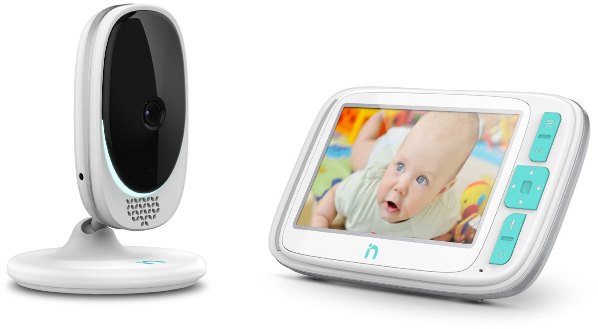 iNanny Видеоняня цифровая с LCD дисплеем 5'' - Безопасность ребенка