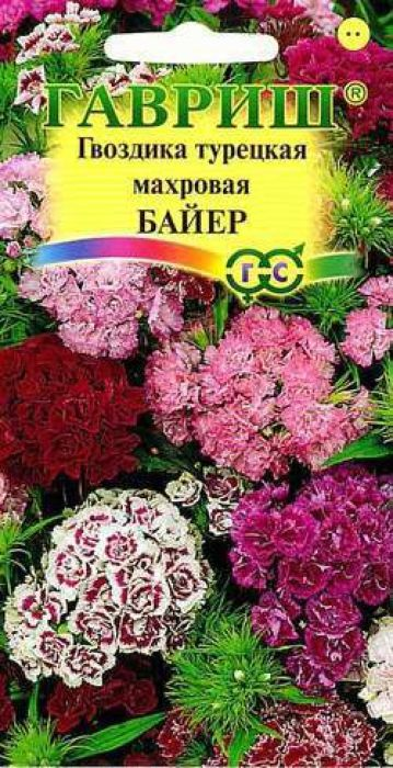 Семена Гавриш Гвоздика турецкая махровая. Байер4601431003248