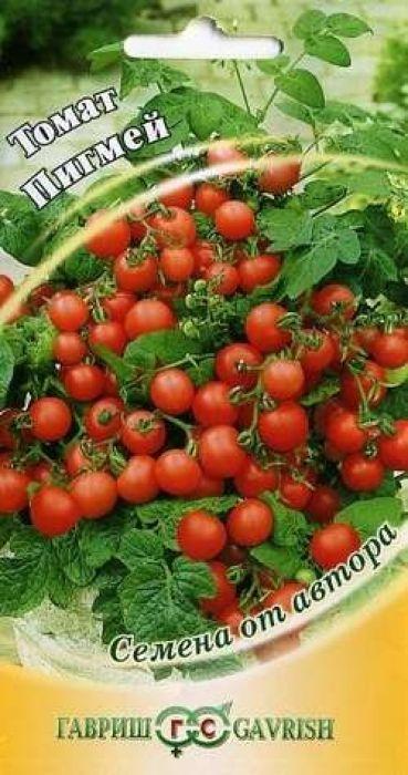Семена Гавриш Томат. Пигмей4601431019379Скороспелый (80-87 дней от всходов до плодоношения) сорт для открытого грунта. Растение штамбовое детерминантное, высотой 25-30 см. Первое соцветие закладывается над 6-7 листом,последующие - через 1-2 листа. Плоды многочисленные, красные, округлые, гладкие, средняя масса плодов 25 г.Плоды вкусные, очень сладкие, с высоким содержанием сухих веществ - 8-10%. В средней полосе России посев на рассаду в начале апреля. Пикировка в фазе первого настоящего листа. Высадка рассады в грунт в мае в возрасте 30-35 дней. Схема посадки 30 х 40 см. Выращивают без формировки. Урожайность 0,15-0,2 кг/раст. Не поражается фитофторой благодаря высокой скороспелости. Возможен посев семян непосредственно вгрунт. Ценность сорта: декоративность, пригодность для выращивания в цветочных горшках, патио, на балконах вконтейнерах, в бордюрах и в качестве культуры-уплотнителя между высокорослыми томатами в теплицах. Рекомендуется для непосредственного употребления, украшения блюд, баночного консервного ассорти.Уважаемые клиенты! Обращаем ваше внимание на то, что упаковка может иметь несколько видов дизайна.Поставка осуществляется в зависимости от наличия на складе.