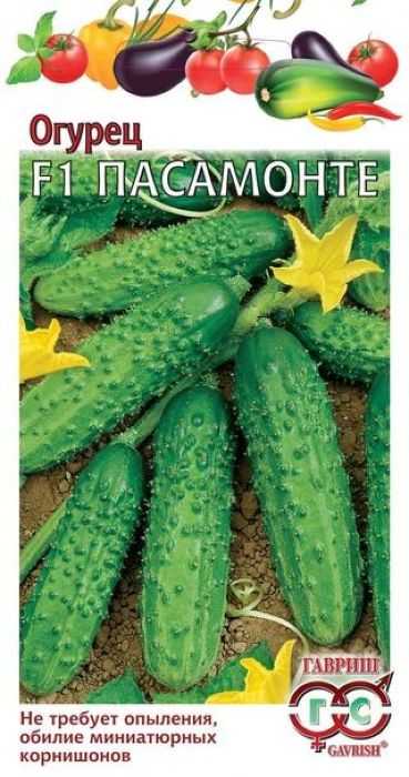 Семена Гавриш Огурец. Пасамонте F1. Голландия4601431044036Ранний (от всходов до плодоношения 40-42 дня) партенокарпический (не требует опыления) гибрид зарубежной селекции для выращивания в теплицах и открытом грунте. Растение сильнорослое, в каждом узле формируется по 2-3 завязи. Плоды, темно-зеленые, среднебугорчатые, белошипые, длиной 6-9 см, массой 60-80 г, универсального назначения (для приготовления салатов, засолки и маринования). Гибрид обладает комплексной устойчивостью к болезням огурцов. Урожайность 12-15 кг/м2. Посев на рассаду: в конце апреля. Высадка рассады в грунт - в конце мая - начале июня в фазе 3-4-х настоящих листьев. Посев непосредственно в грунт - в мае - июне. Схема посадки: 30 х 70 см. Необходим регулярный сбор плодов (2-3 раза в неделю). Уважаемые клиенты! Обращаем ваше внимание на то, что упаковка может иметь несколько видов дизайна. Поставка осуществляется в зависимости от наличия на складе.
