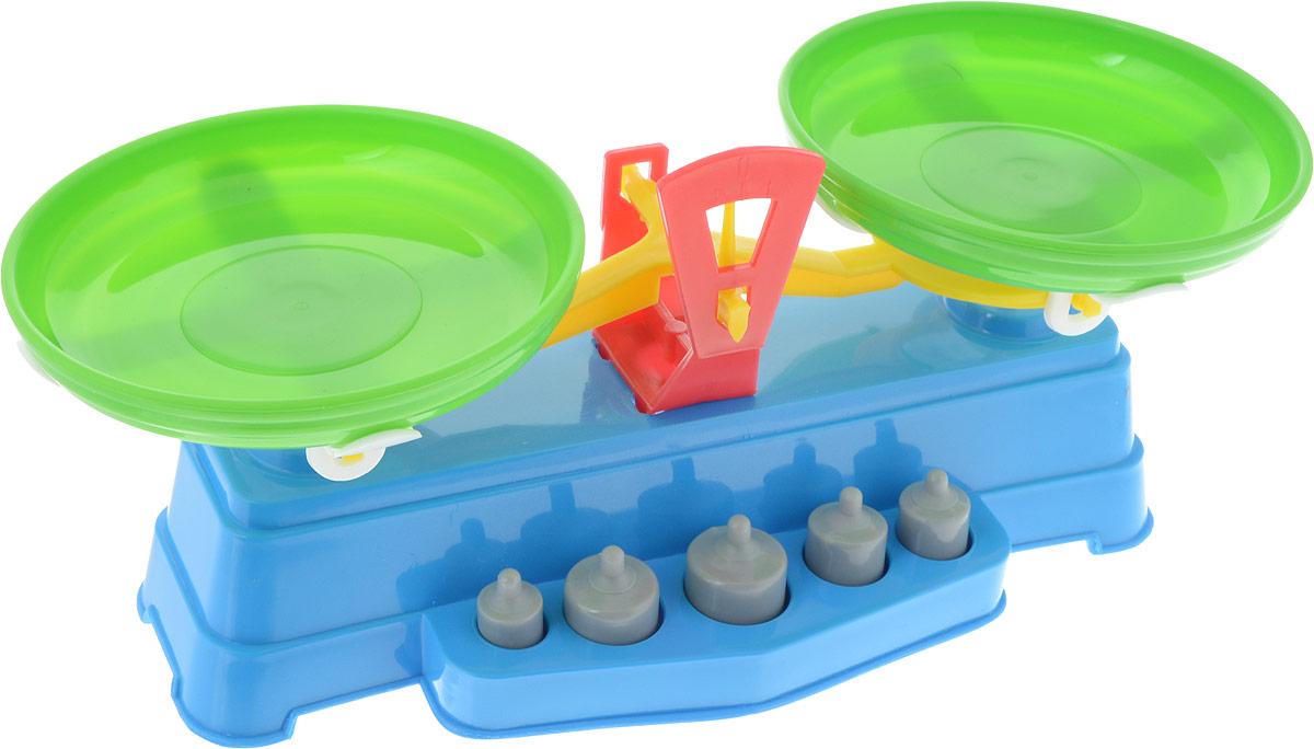 Poltoys Игрушечные весы цвет синий зеленый купить игрушечные рации