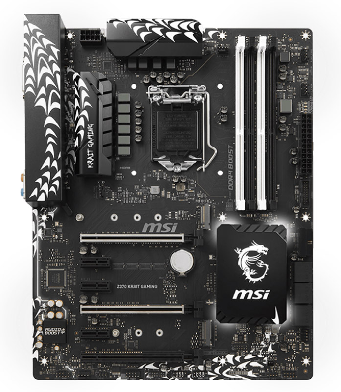 MSI Z370 Krait Gaming материнская плата msi z170a pc mate материнская плата