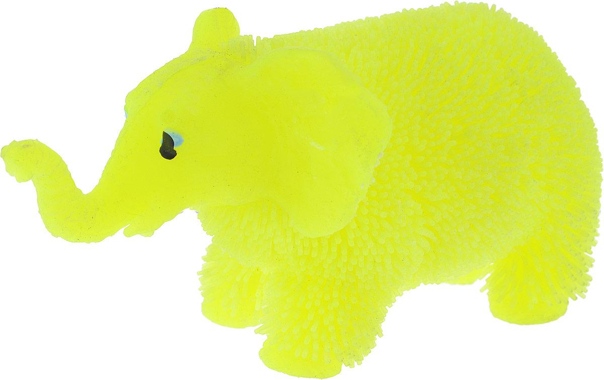 1TOY Антистрессовая игрушка Нью-Ёжики Слоник цвет желтый 1toy игрушка антистресс ё ёжик животное цвет бежевый