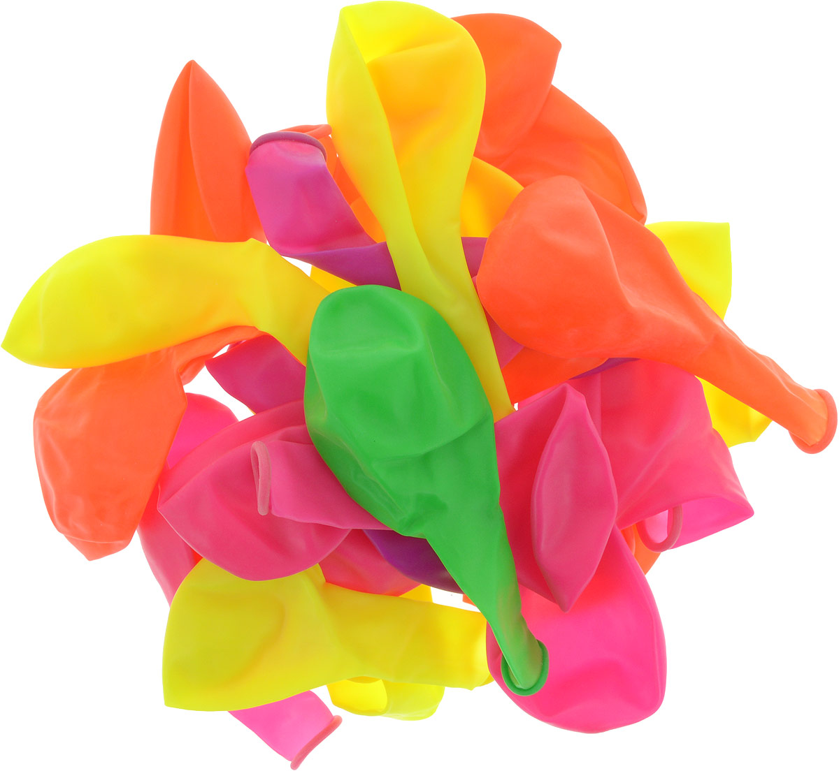 Latex Occidental Набор воздушных шариков Флуоресцентный 25 шт набор воздушных шаров partic 25 шт 8106525 02