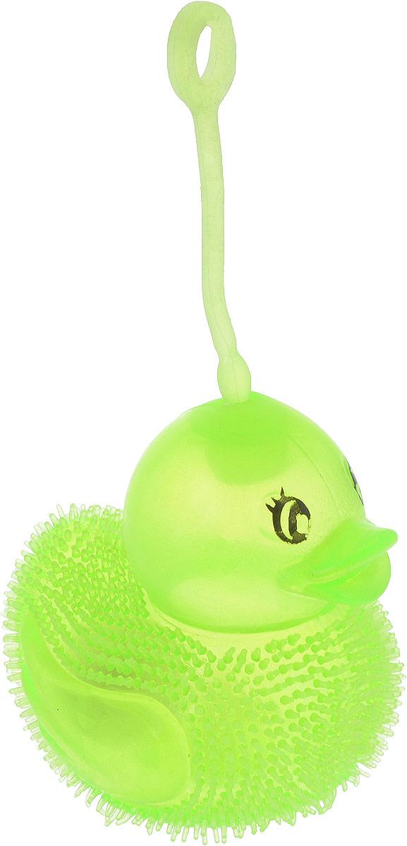1TOY Антистрессовая игрушка Нью-Ёжики Уточка цвет зеленый
