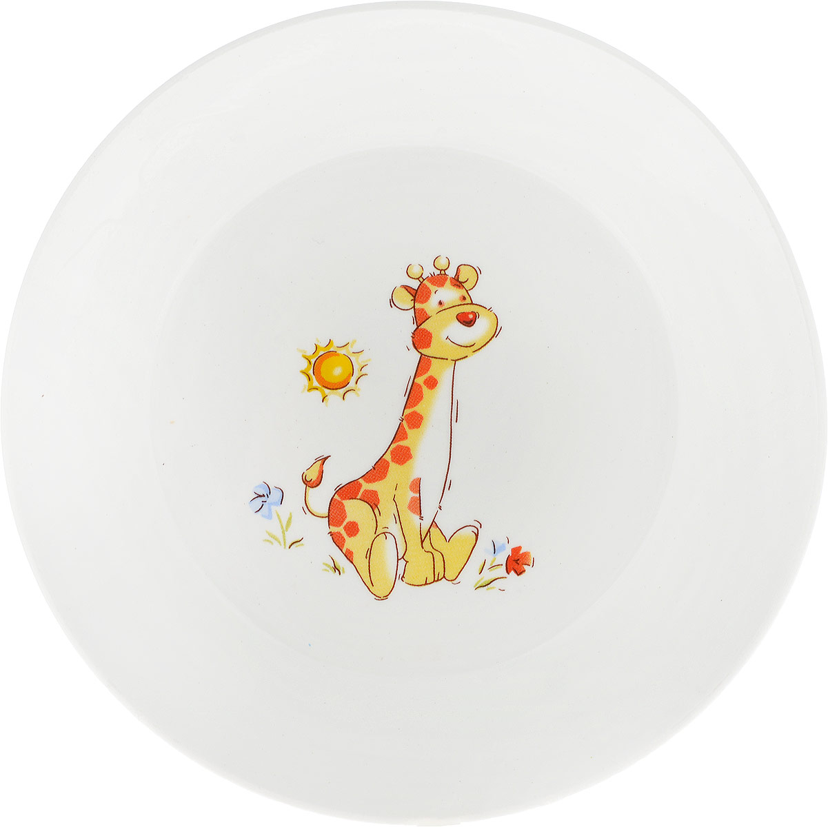 Кубаньфарфор Блюдце Зоопарк Жираф639/1Детское блюдце Кубаньфарфор Зоопарк: Жираф идеально подойдет для кормления малыша и самостоятельного приема пищи. Глубокое блюдце выполнена из фаянса, его высокие бортики обеспечат удобство кормления и предотвратят случайное проливание жидкой пищи.Яркое блюдца с красочным рисунком на дне непременно порадует малыша и сделает любой прием пищи приятным и веселым.