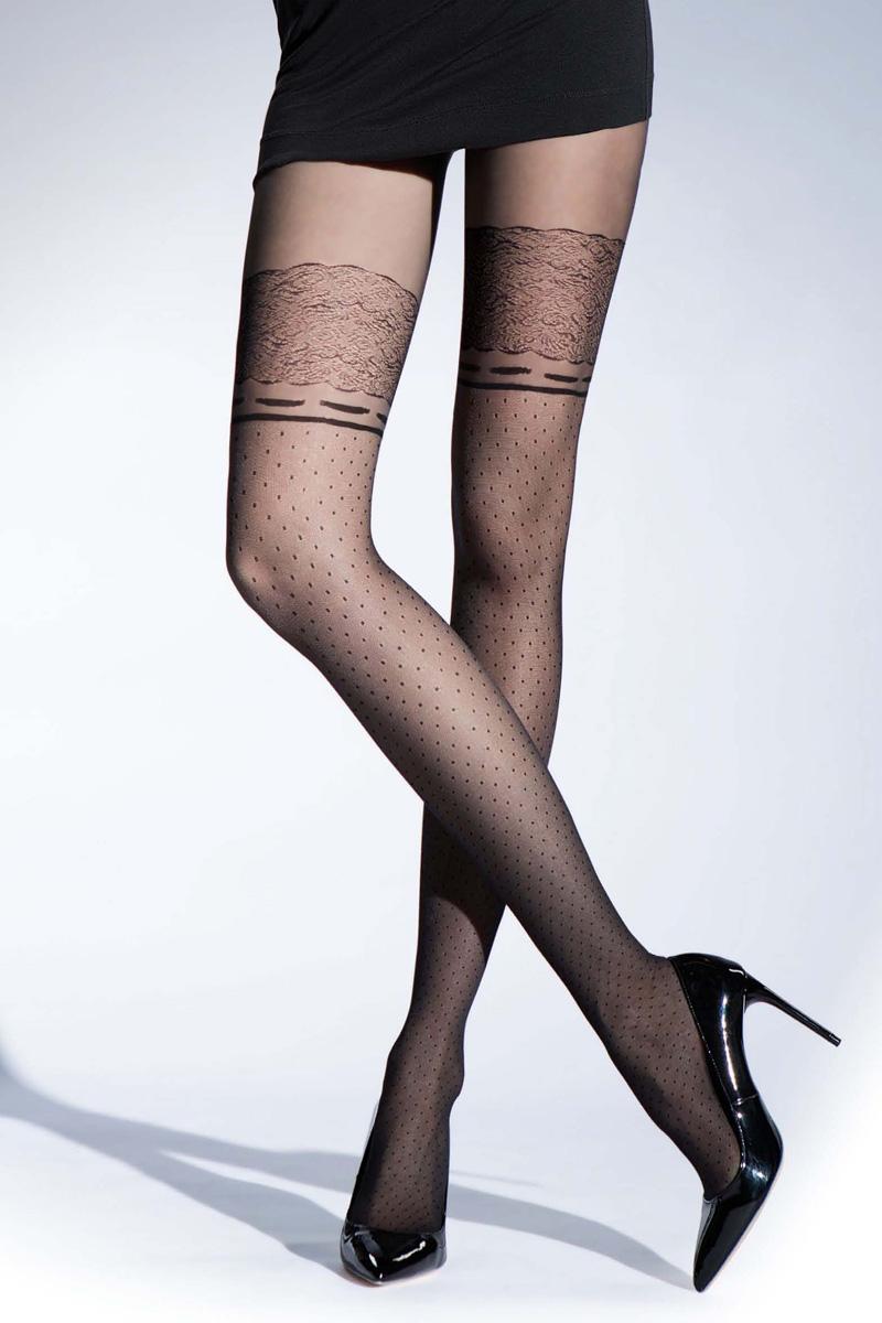Колготки женские Knittex Wonderland 20, цвет: черный. WONDERLAND. Размер 4 колготки knittex колготки tender 20 den