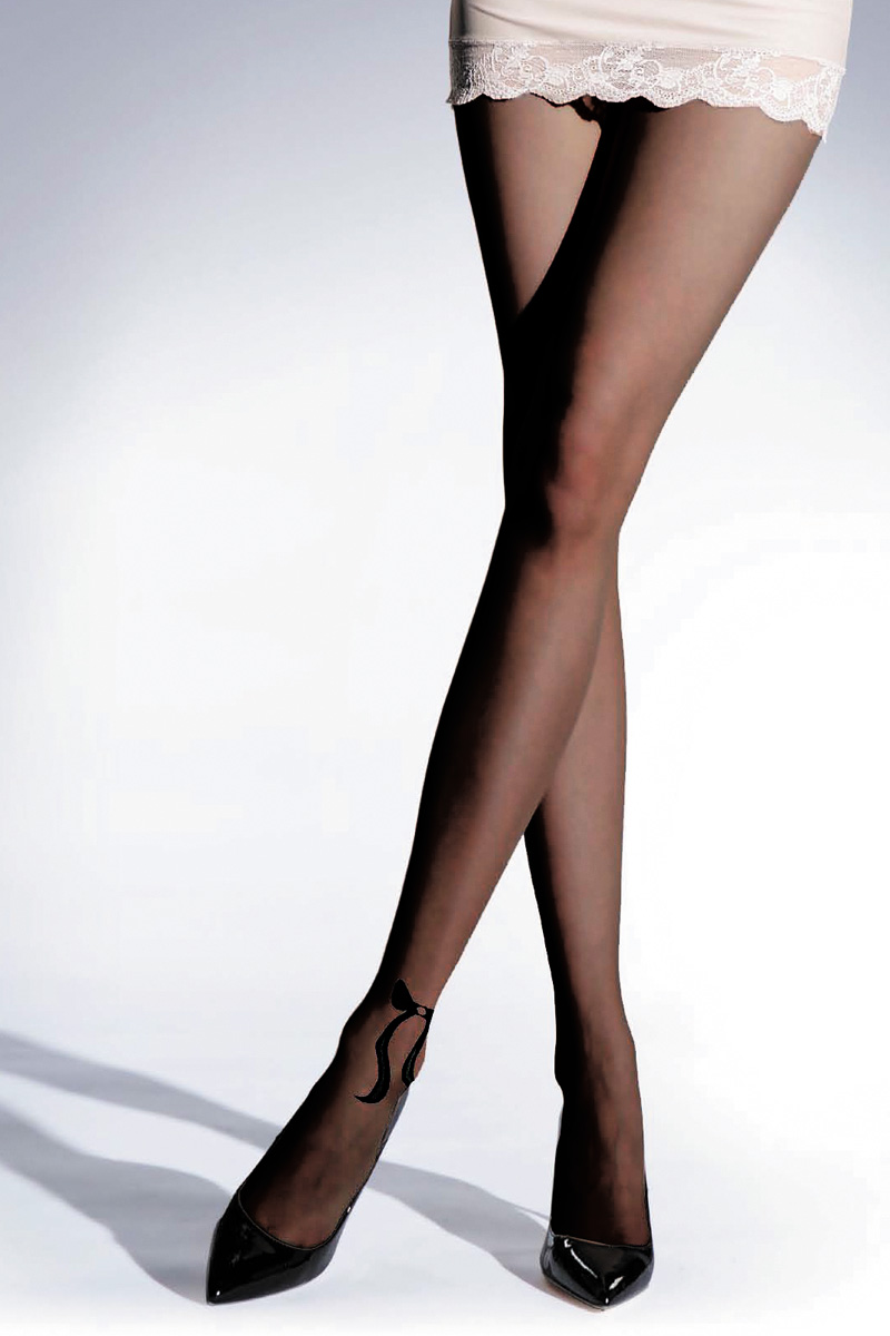 Колготки женские Knittex Tender 20, цвет: черный. TENDER. Размер 2 колготки knittex колготки tender 20 den