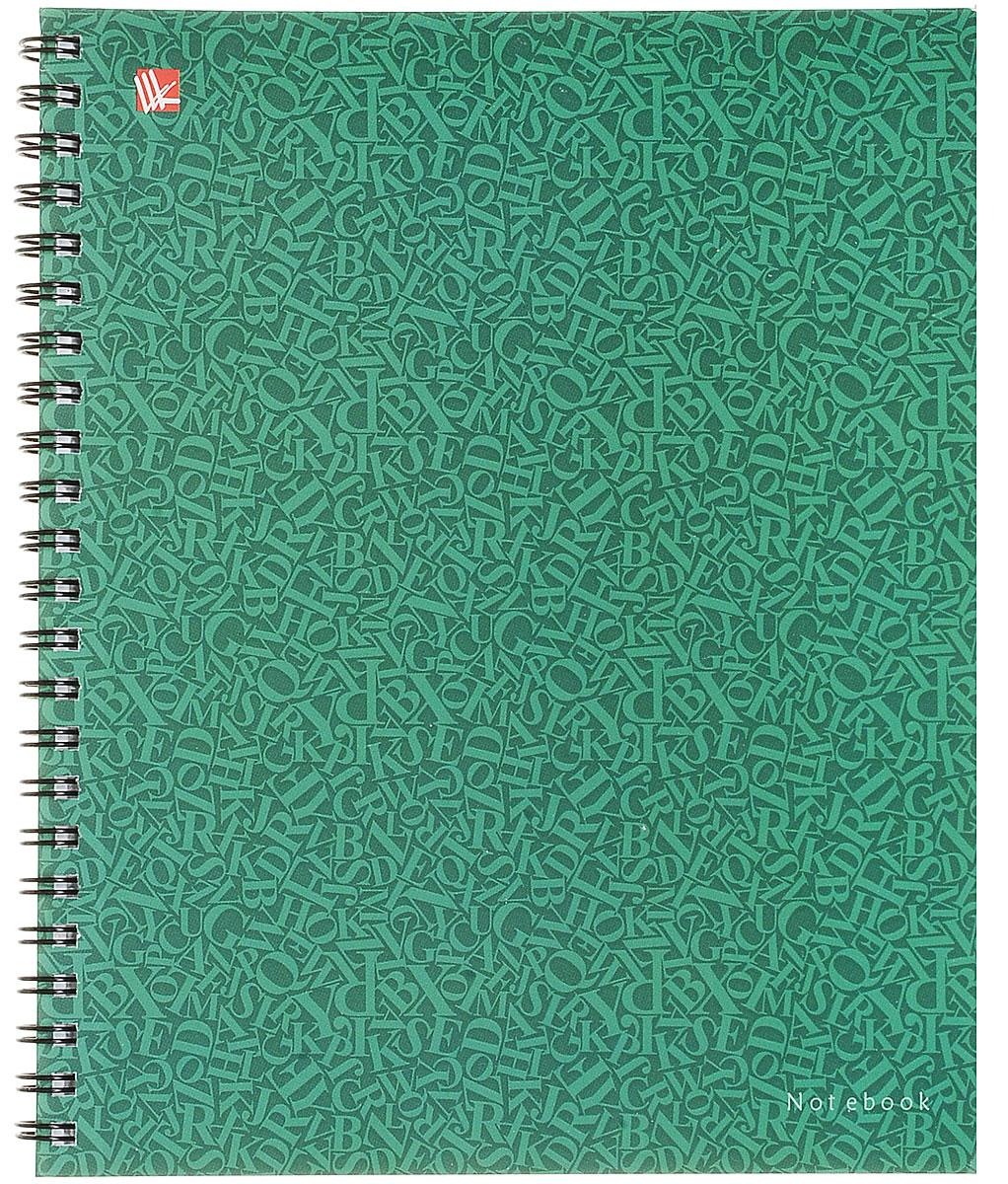 Канц-Эксмо Тетрадь Стиль цвета 96 листов в клетку цвет зеленый тетради канц эксмо темно красная а5 200листов тетради с пластиковой обложкой