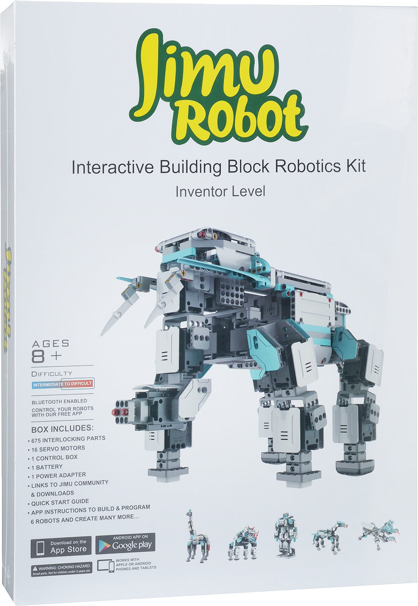 UBTech Робот-конструктор Jimu Inventor конструктор bebox клубничный домик 66шт b7010