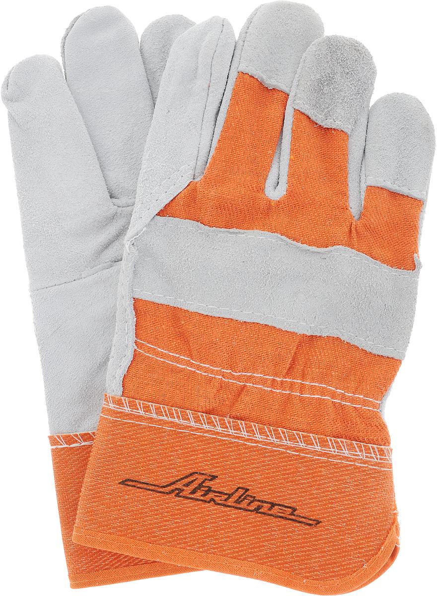 Перчатки спилковые Airline Expert, защитные, цвет: серый, оранжевый. AWG-S-07. Размер универсальныйAWG-S-07Спилковые перчатки Airline Expert, изготовленные изнатуральной кожи и хлопка, обеспечивают защиту рук привыполнении большинства бытовых или производственныхработ.Преимущества:-высокая сопротивляемость к проколам и порезам;-выдерживают кратковременное воздействие высокихтемператур;-выдерживают кратковременное воздействие водной среды;-дышащий материал.