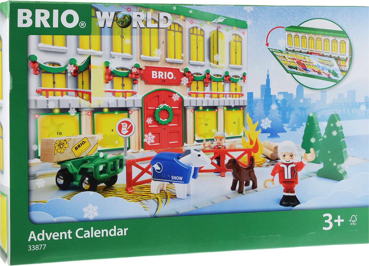 Brio Игровой набор Рождественский календарь - Железные дороги