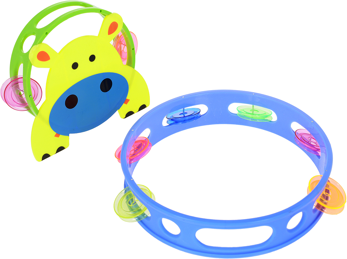 Shantou Gepai Набор бубнов 2 шт музыкальные игрушки shantou gepai набор музыкальные инструменты 5 предметов