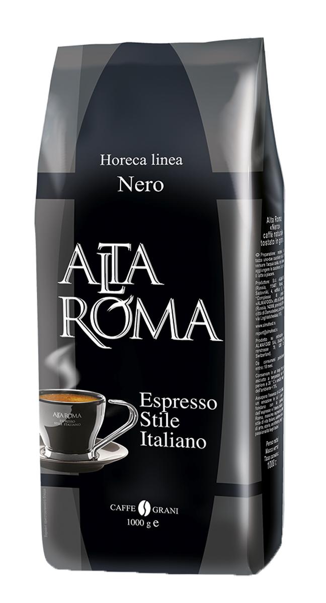 Altaroma Nero кофе в зернах, 1 кг00000000729Свежеобжареный кофе расфасованный в многослойную комбинированную пленку. Срок годности 18 месКофе: мифы и факты. Статья OZON Гид