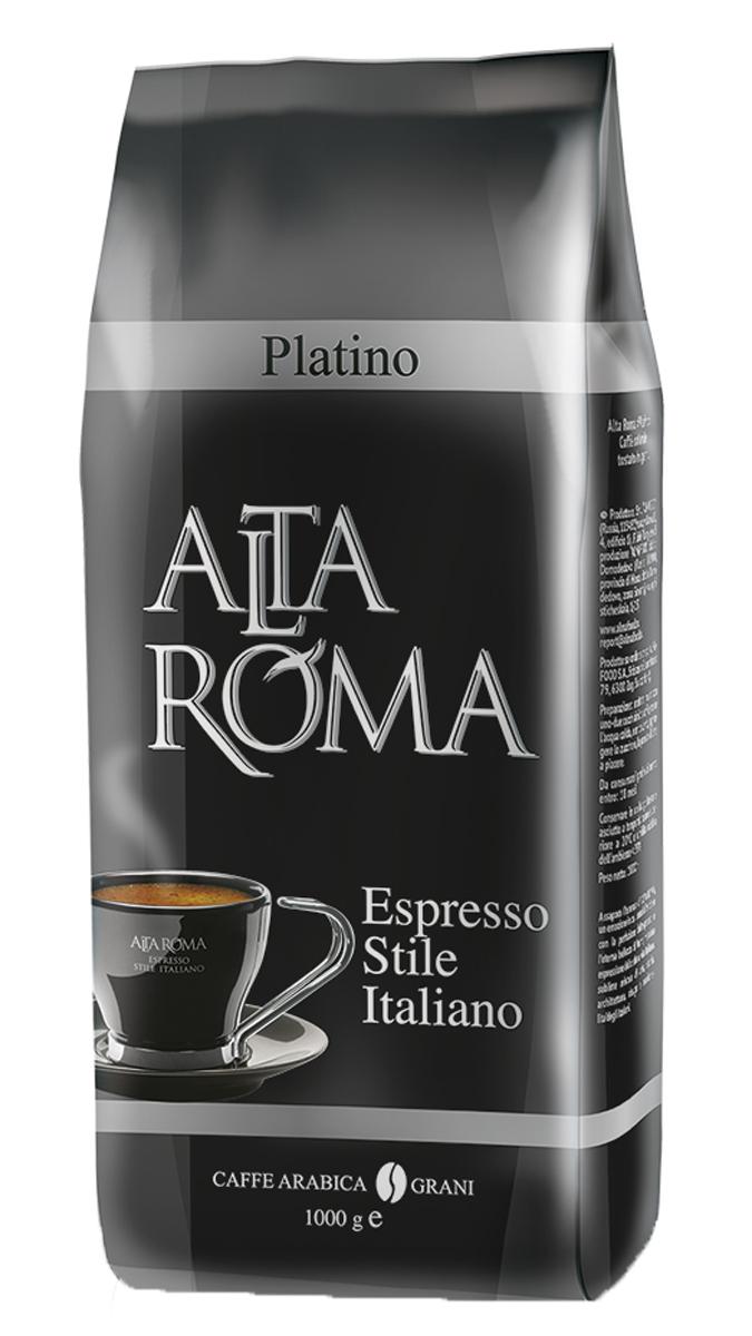 Altaroma Platino кофе в зернах, 1 кг00000000733Свежеобжареный кофе расфасованный в многослойную комбинированную пленку. Срок годности 18 мес