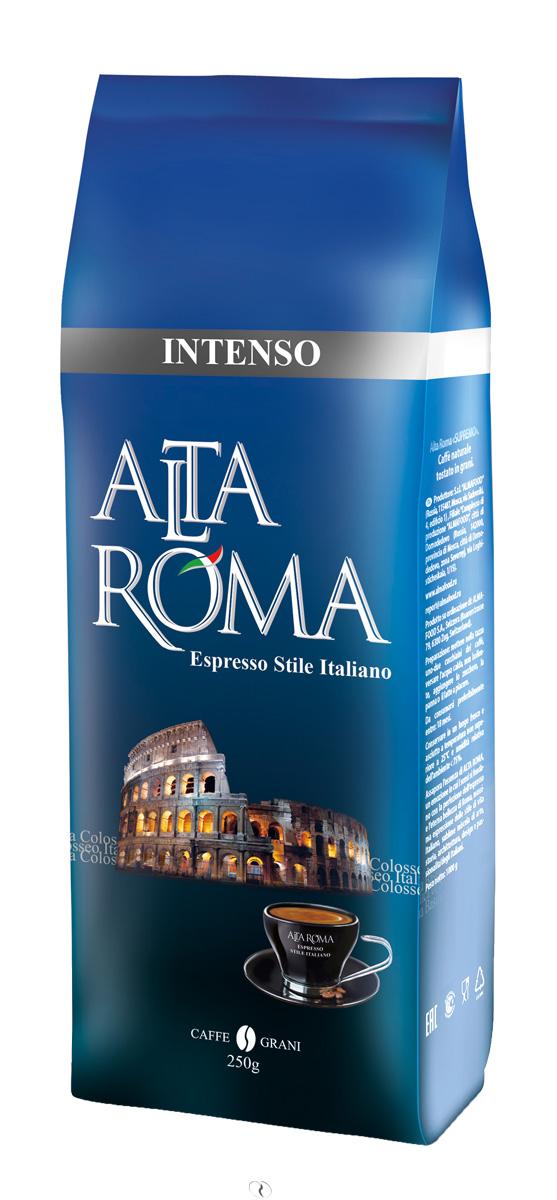 Altaroma Intenso кофе в зернах, 250 г00000008478Свежеобжареный кофе расфасованный в многослойную комбинированную пленку. Срок годности 24 месКофе: мифы и факты. Статья OZON Гид