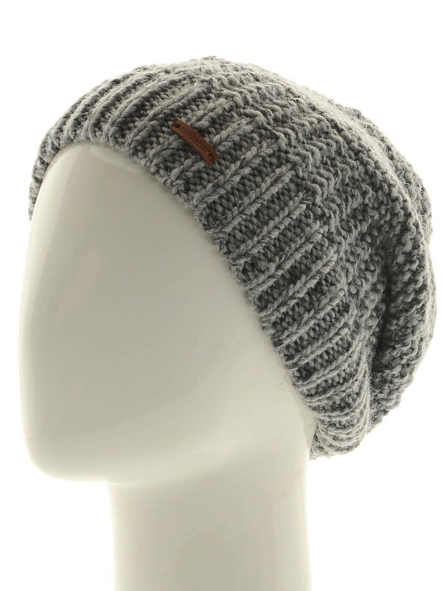 Шапка мужская Marhatter, цвет: серый. Размер 57/59. MMH7127/2MMH7127/2Отличная вязаная шапка в стиле сasual. Модель прекрасно подойдет активным молодым людям, ценящим комфорт и удобство. Идеальный вариант на каждый день.