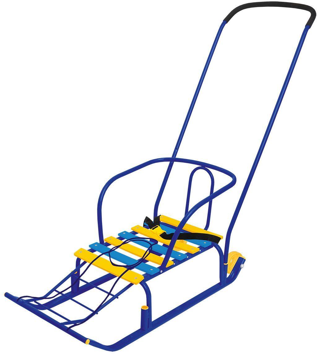 Ника Санки Тимка 5 Комфорт цвет синийТ5К_синийплоские полозья 30 мм, удлиненная база, ручка- 2 положения, пластиковые вкладыши под толкатель, ремень безопасности, ступенчатая подножка, колеса на полозьях для удобной транспортировки, длина сиденья- 460мм, ширина сиденья- 290 мм