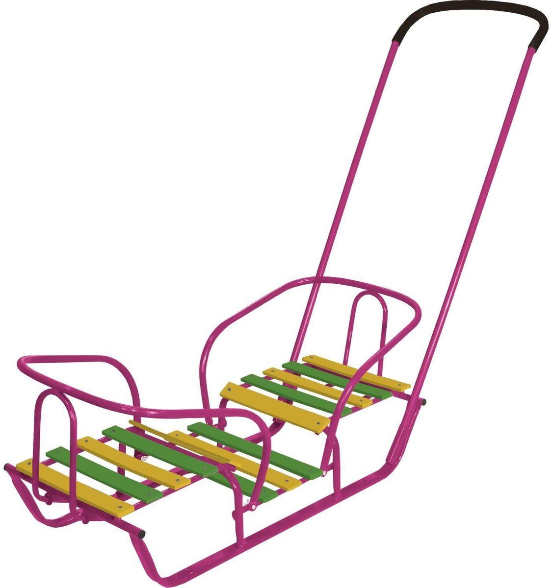 Ника Санки-двойняшки СД цвет сиреневыйСДплоские полозья 30 мм, поперечная рейка сиденья, два места для сиденья, деревянная подножка, длина сиденья- 320мм, ширина- 290мм. Отличный вариант для прогулки с двумя детьми.