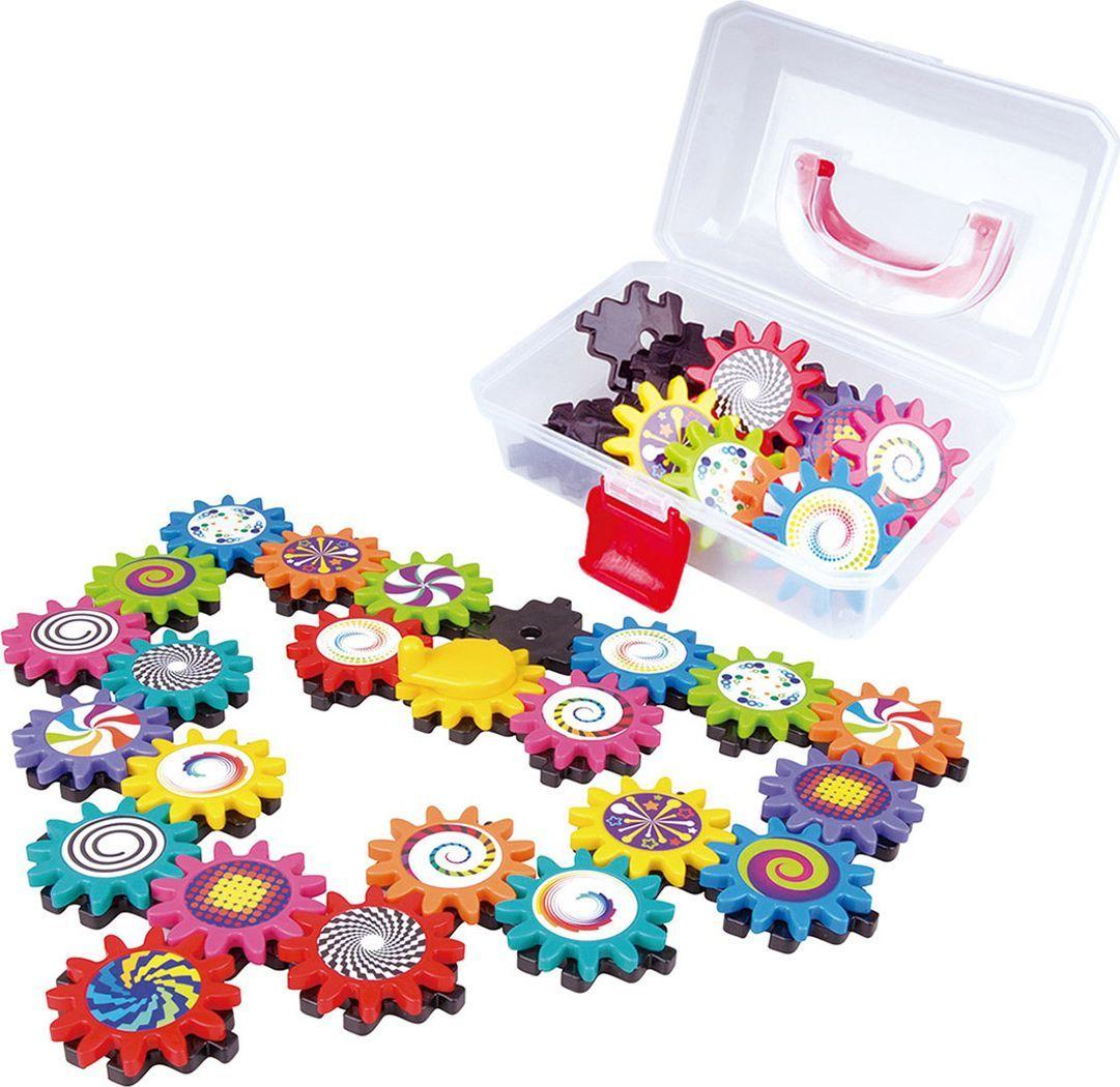 PlayGo Игровой набор Конструктор с шестеренками в сундучке