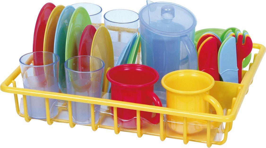 PlayGo Игровой набор  сушка с посудой - Сюжетно-ролевые игрушки