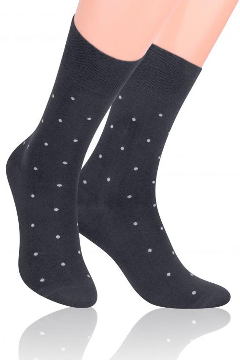 Носки мужские Steven, цвет: темно-серый. 056 (HC40). Размер 39/41 носки подростковые steven цвет серый 150 ms003 размер 35 37