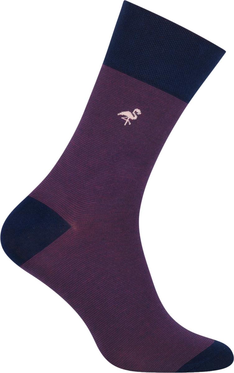 Носки мужские More, цвет: фиолетовый. 051 (004). Размер 39/42051 (UG004)Стильные деловые мужские носки More изготовлены из высококачественного хлопка, они приятны на ощупь, не раздражают кожу, позволяя ей дышать. Модель отлично облегает стопу. Имеют удобную не сдавливающую резинку.Изделие дополнено принтом.