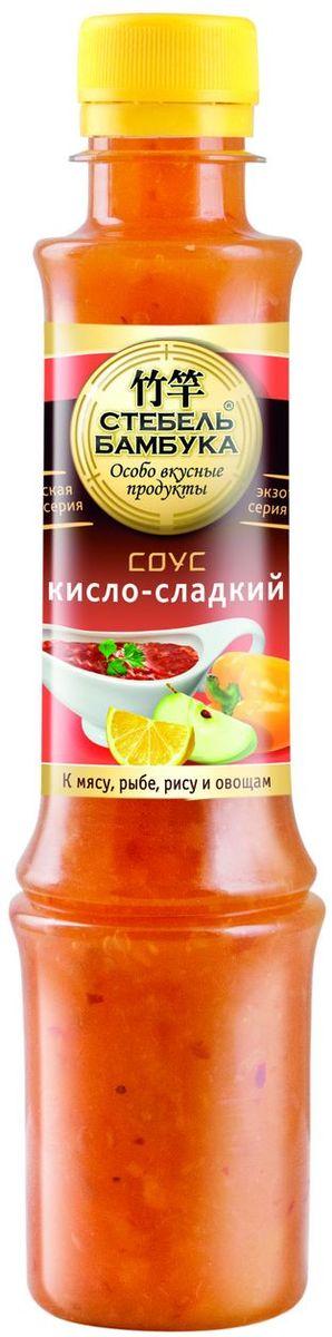 Стебель Бамбука соус кисло-сладкий, 280 г стебель бамбука соус соевый с чесноком 280 г