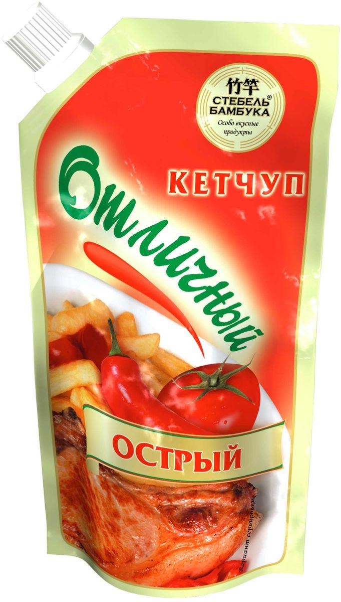 Стебель Бамбука кетчуп острый, 300 г