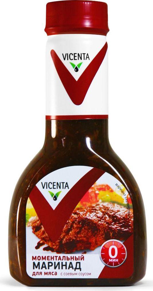 Vicenta маринад Моментальный для мяса с соевым соусом, 320 г81799Изысканный соус для приготовления неповторимых блюд на гриле.