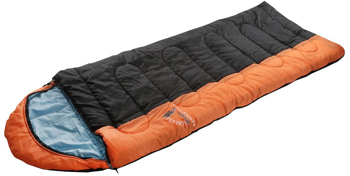 Спальный мешок Indiana Camper Plus, цвет: черный, серый, голубой, правая молния, 195 х 35 х 90 см360700041_черный, серый, голубойУдобный спальник-одеяло Camper Plus с капюшоном-подголовником и правой молнией пригодится в походе или путешествии. Спальный мешок имеет три слоя: полиэстер, файбер и поликоттон. Спальник выпускается как с левой, так и с правой молнией. Благодаря этому два спальника этой модели можно состегивать друг с другом. Увеличенные размеры спального мешка и его температурные режимы обеспечат вам комфортный отдых во время вашего пребывания на природе. Можно использовать при температуре от +15С до -12С.Полная длина: 230 см. Размер в сложенном виде без учета капюшона: 195 х 35 х 90 см. Спальный мешок упакован в практичный чехол с утяжкой со стоппером и двумя тонкими лямками.