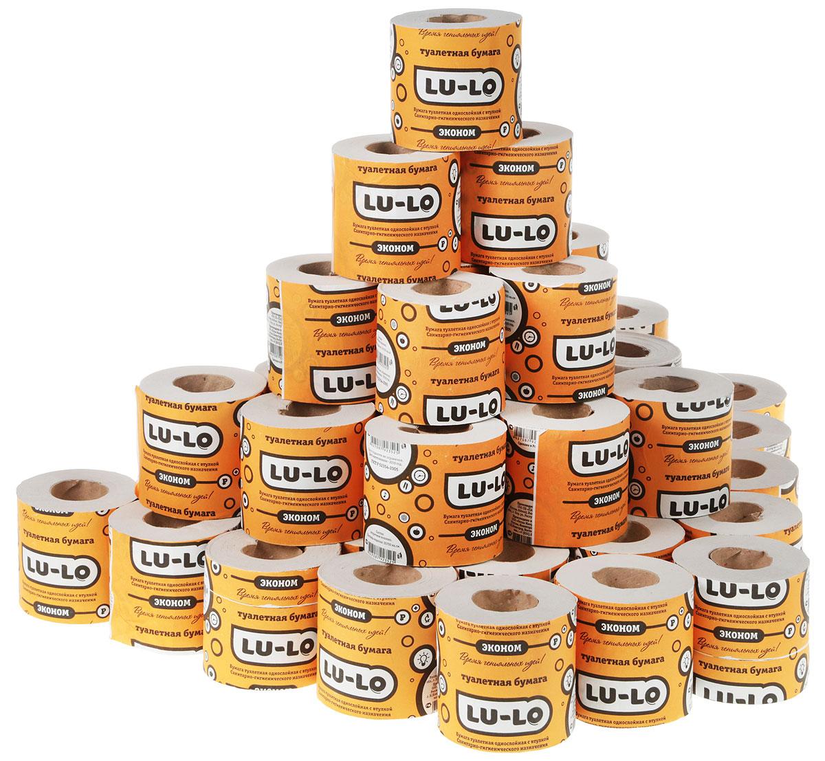 Бумага туалетная Lu Lo, 50 рулонов870536Туалетная бумага LU LO не содержит хлора, клея, макулатуры и флуоресцентных добавок. Изготовлена из натуральных растительных волокон - экологически чистой 100% целлюлозы. Благодаря этим волокнам она обладает прекрасно впитывающей способностью, прочностью и мягкостью.