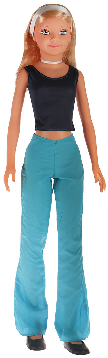 Falca Кукла Дженни Звезда цвет одежды синий голубой кукла yako m6579 6