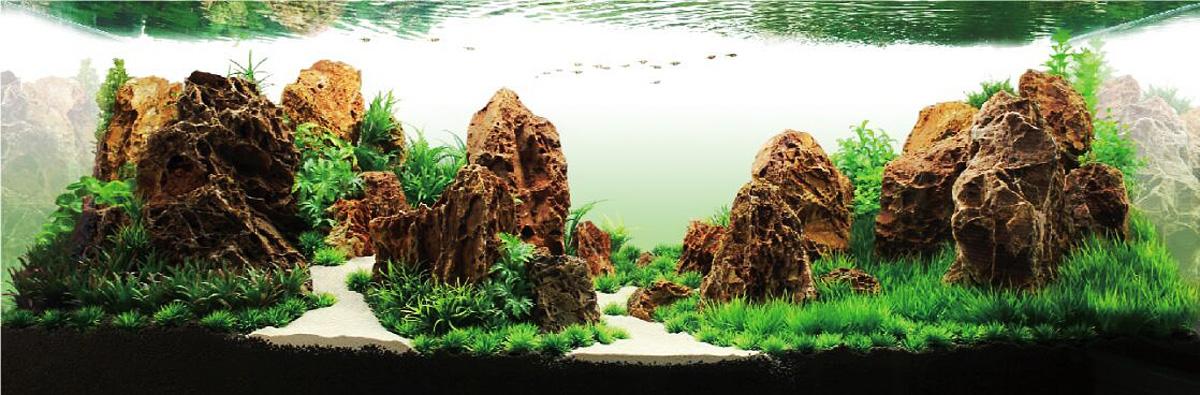 Аквадизайн Meijing Aquarium  Волшебные скалы , 2 шт. YS-201686 - Аксессуары для аквариумов
