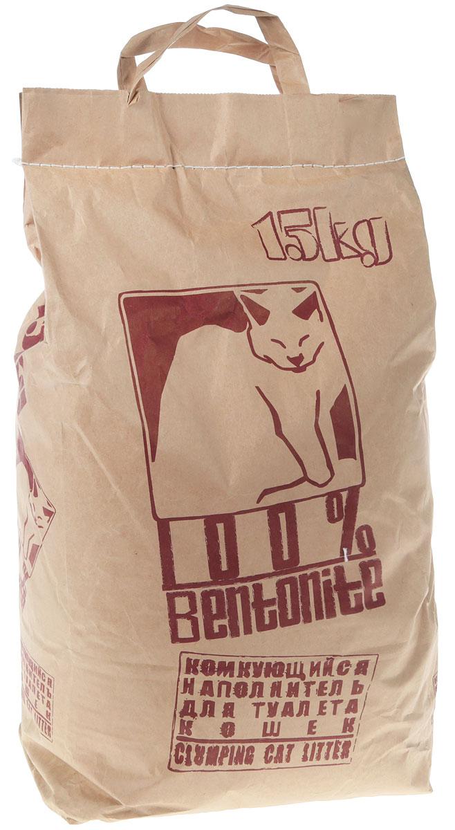 Наполнитель для кошачьего туалета  Pi-Pi-Bent , комкующийся, 15 кг - Наполнители и туалетные принадлежности