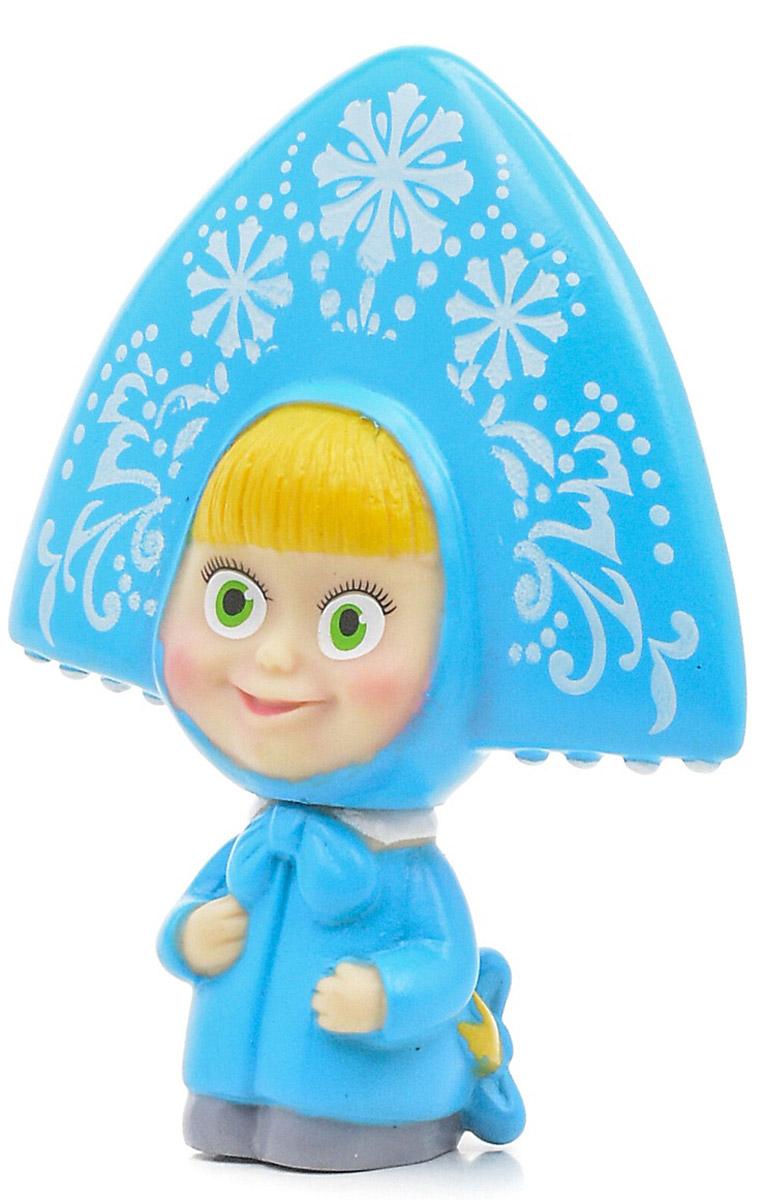 Играем вместе Игрушка для ванной Маша-снегурочка цвет синий желтый