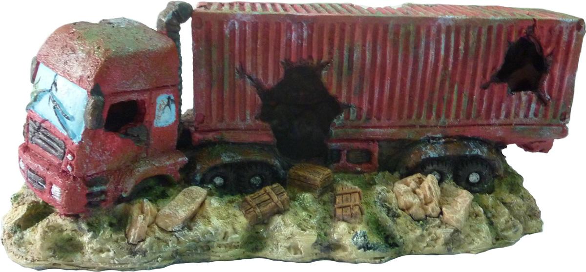 Грот Meijing Aquarium Затонувшая фура. WR-051 игровые наборы море чудес набор грот русалочки