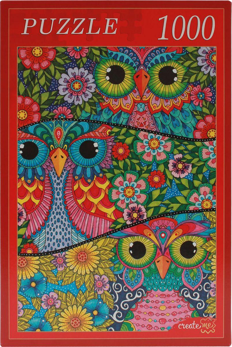 Рыжий Кот Пазл Цветные совы