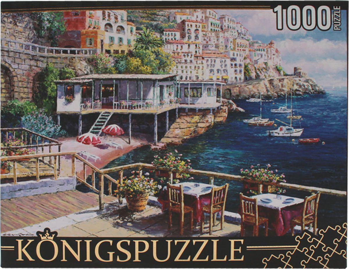 Konigspuzzle Пазл Кафе у моря