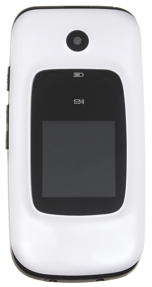 BQ 2002 Trust, White85954566BQ 2002 Trust - кнопочный телефон с элегантным раскладным корпусом, предназначенный преимущественно для старшего поколения. С его помощью вы также сможете слушать музыку. Устройство поддерживает карты памяти до 32 Гб, что позволит вам сохранить множество музыкальных композиций. Телефон также поддерживает технологию Bluetooth, что даёт возможность передавать файлы без помощи кабеля. Кнопка SOS всегда выручит вас в сложной ситуации.Телефон сертифицирован EAC и имеет русифицированную клавиатуру, меню и Руководство пользователя.