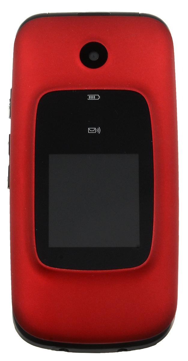 BQ 2002 Trust, Red85954BQ 2002 Trust - кнопочный телефон с элегантным раскладным корпусом, предназначенный преимущественно для старшего поколения. С его помощью вы также сможете слушать музыку. Устройство поддерживает карты памяти до 32 Гб, что позволит вам сохранить множество музыкальных композиций. Телефон также поддерживает технологию Bluetooth, что даёт возможность передавать файлы без помощи кабеля. Кнопка SOS всегда выручит вас в сложной ситуации.Телефон сертифицирован EAC и имеет русифицированную клавиатуру, меню и Руководство пользователя.