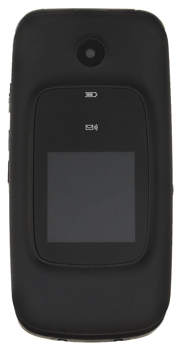 BQ 2002 Trust, Black85954562BQ 2002 Trust - кнопочный телефон с элегантным раскладным корпусом, предназначенный преимущественно для старшего поколения. С его помощью вы также сможете слушать музыку. Устройство поддерживает карты памяти до 32 Гб, что позволит вам сохранить множество музыкальных композиций. Телефон также поддерживает технологию Bluetooth, что даёт возможность передавать файлы без помощи кабеля. Кнопка SOS всегда выручит вас в сложной ситуации.Телефон сертифицирован EAC и имеет русифицированную клавиатуру, меню и Руководство пользователя.